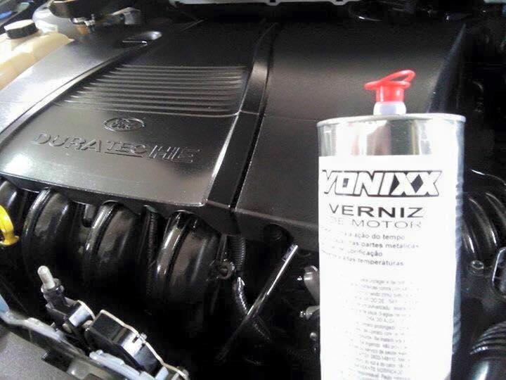 Verniz para Motor Vonixx - Hidratante para motor
